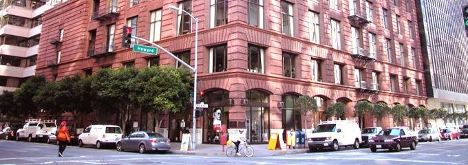 Red Building in SOMA San Francisco
