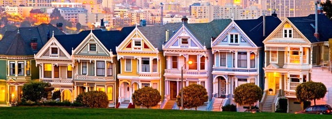 Full House Victorian Row Famous
