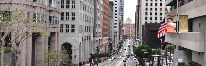Financial District San Francisco Hill View