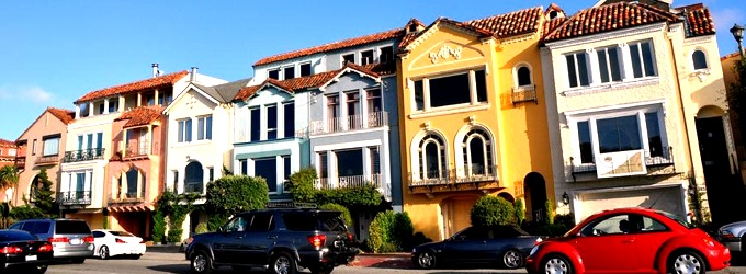 Three homes in Marina San Francisco near Chestnut Street