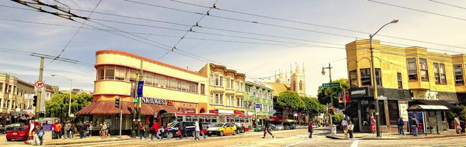 North Beach City View