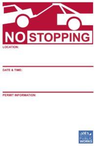 San Francisco Moving Permit
