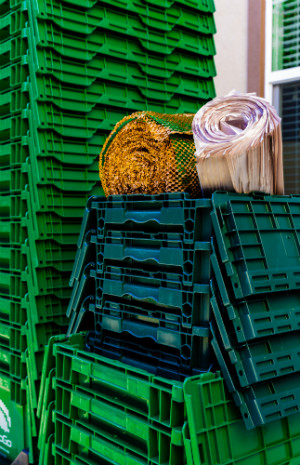 green boxes, greenwrap, packing paper