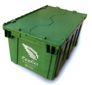 ZippGo reusable moving box
